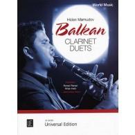 MAMUDOV H. BALKAN CLARINET DUETS