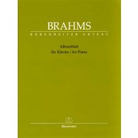 BRAHMS J. ALBUMBLATT PIANO