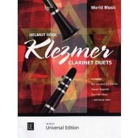 HODL H. KLEZMER CLARINET DUETS