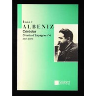 ALBENIZ I. CHANTS D'ESPAGNE OP 232 N°4 PIANO
