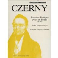 CZERNY K. EXERCICES PRATIQUES POUR LES DOIGTS OP 802 PIANO
