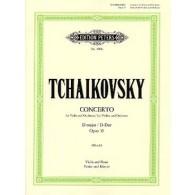 TCHAIKOWSKY P.I. CONCERTO OP 35 VIOLON
