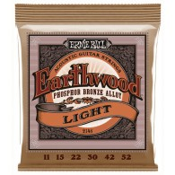 JEU DE CORDES ERNIE BALL 2148 EARTHWOOD PHOSPHOR 11/52