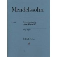 MENDELSSOHN B. STRING QUINTETS OP 18 OP 87