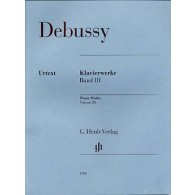 DEBUSSY C. OEUVRES VOL 3 PIANO
