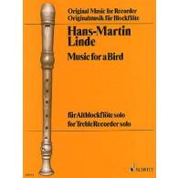 LINDE H.M. MUSIC FOR A BIRD FLUTE ALTO