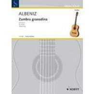 ALBENIZ I. ZAMBRA GRANADINA GUITARE