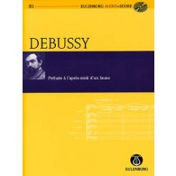 DEBUSSY C. PRELUDE A L'APRES-MIDI D'UN FAUNE PARTITION DE POCHE