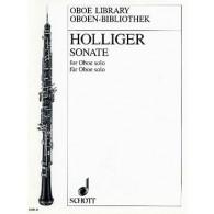 HOLLIGER H. SONATE HAUTBOIS