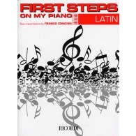 CONCINA F. FIRST STEPS ON MY PIANO LATIN