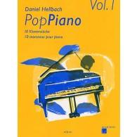 HELLBACH D. POP PIANO VOL 1