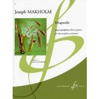 MAKHOLM J. RHAPSODIE SAXO ALTO