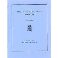 GOOSSENS E. VIEILLE CHANSON A BOIRE BASSON