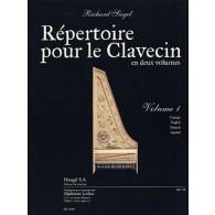 SIEGEL R. REPERTOIRE POUR LE CLAVECIN VOL 1