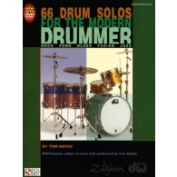 HAPKE T. 66 DRUM SOLOS FOR THE MODERN DRUMMER
