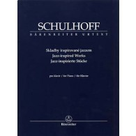 SCHULHOFF E. JAZZ INSPIRED WORKS PIANO