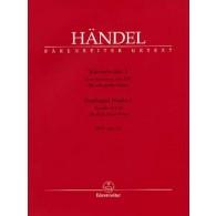 HAENDEL G.F. OEUVRES VOL 1 PIANO