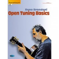 BRANDONI R. OPEN TUNING BASICS GUITARE