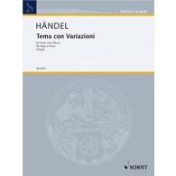 HAENDEL G.F. TEMA CON VARIAZIONI HARPE