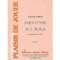 CARLIN A. MENTHE A L'EAU SAXOPHONE TENOR