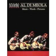 DI MEOLA AL MUSIC WORDS PICTURES GUITARE