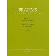 BRAHMS J. SONATE N°2 OP 100 VIOLON