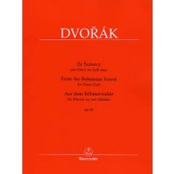 DVORAK A. FROM THE BOHEMIAN FOREST OP 68 PIANO 4 MAINS