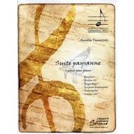 TOMEZZOLI A. SUITE PAYSANNE PIANO