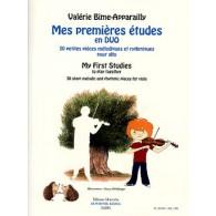 BIME-APPARAILLY MES PREMIERES ETUDES EN DUO ALTOS
