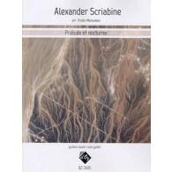 SCRIABINE A. PRELUDE ET NOCTURNE GUITARE
