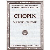 CHOPIN F. MARCHE FUNEBRE PIANO