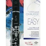 CHAUSSE S. EASY ENSEMBLE DE CLARINETTES