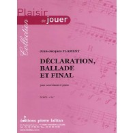 FLAMENT J.J. DECLARATION BALLADE ET FINAL CONTREBASSE