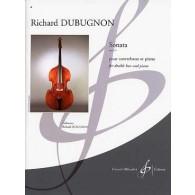 DUBUGNON R. SONATA OP 44 CONTREBASSE ET PIANO