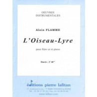 FLAMME A. L'OISEAU LYRE FLUTE