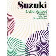 SUZUKI CELLO SCHOOL VOL 5