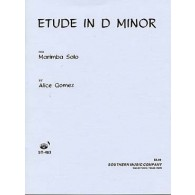 GOMEZ A. ETUDE EN RE MINEUR MARIMBA