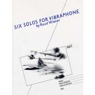 WIENER R. SOLOS VOL 1 VIBRAPHONE