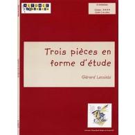 LECOINTE G. TROIS PIECES EN FORME D'ETUDE TIMBALES