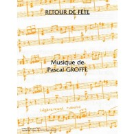 GROFFE P. RETOUR DE FETE ACCORDEON