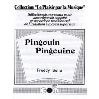 BALTA F. PINGOUIN PINGOUINE ACCORDEON