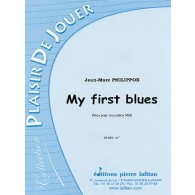 PHILIPPON J.M. MY FIRST BLUES ACCORDEON