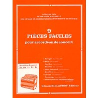 PIECES FACILES ACCORDEON
