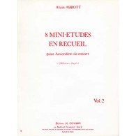 ABBOTT A. MINI ETUDES VOL 2 ACCORDEON