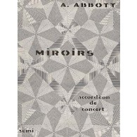 ABBOTT A. MIROIRS ACCORDEON