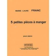 FRANC M.L. PETITES PIECES A MANGER PIANO