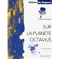 TELMAN A. SUR LA PLANETE OCTAVIUS ALTO PIANO