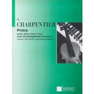 CHARPENTIER J. PRIERE VIOLON