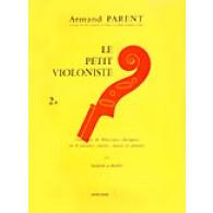 LE PETIT VIOLONISTE VOL 2B VIOLON