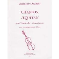 JOUBERT C.H. CHANSON D'EQUITAN VIOLONCELLE